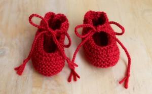 booties knit pattern 1