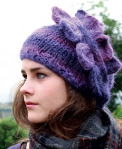 bow-Cascade-Hat-knitting-pattern