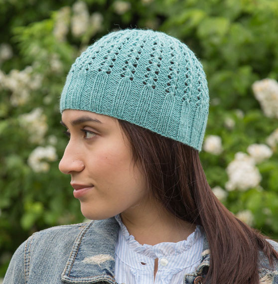 9d748c37ce7 lace-hat-beanie-knit-pattern ⋆ Knitting Bee