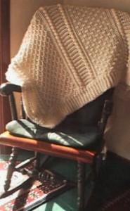 Aran Afghan - Free Crochet Pattern