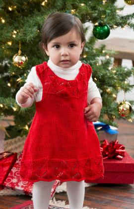Beautiful Baby Dress Knitting Pattern