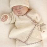 Bedtime Stories Wrap Garter Stitch Cardigan Pattern