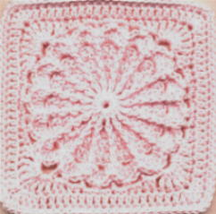 Carousel Square - Free Crochet 1