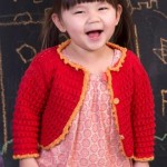 Child's Eyelet Sweater Knitting Pattern