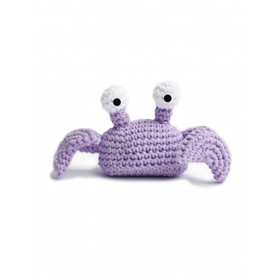Crabby Patsy - Free Crochet Pattern for a Crab Toy