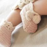 Crochet DROPS slippers pattern for baby