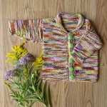 Easy Baby Cardi - Free Knitting Pattern
