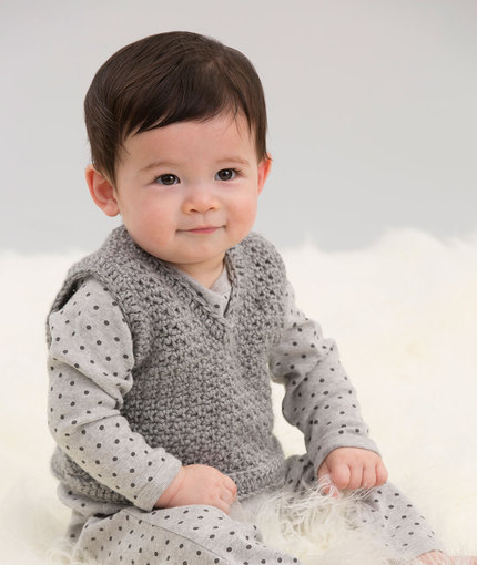 Crochet Baby Vest Knitting Bee 2 Free Knitting Patterns