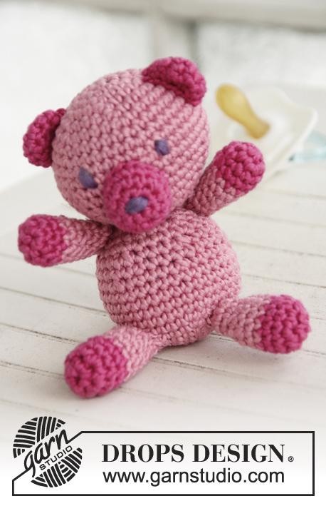 Free Crochet Teddy Pattern