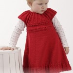 Little Hedda - Free Knitting Pattern for Girl's Dress