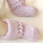 Lullaby Booties  - Free Knitting Pattern
