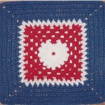 Peace, Love and Understanding Free Crochet Square Pattern
