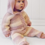 Playdate Garter Stitch Suit Pattern for Baby