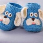 Puppy Booties - Free Crochet Pattern
