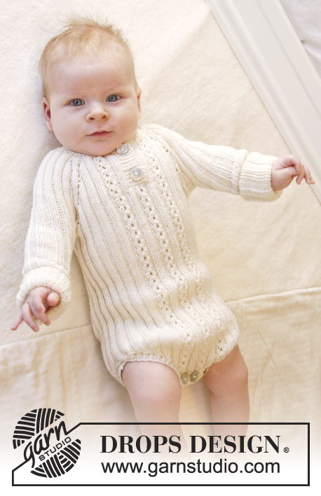 Simply Sweet Baby Onesie Knitting Pattern