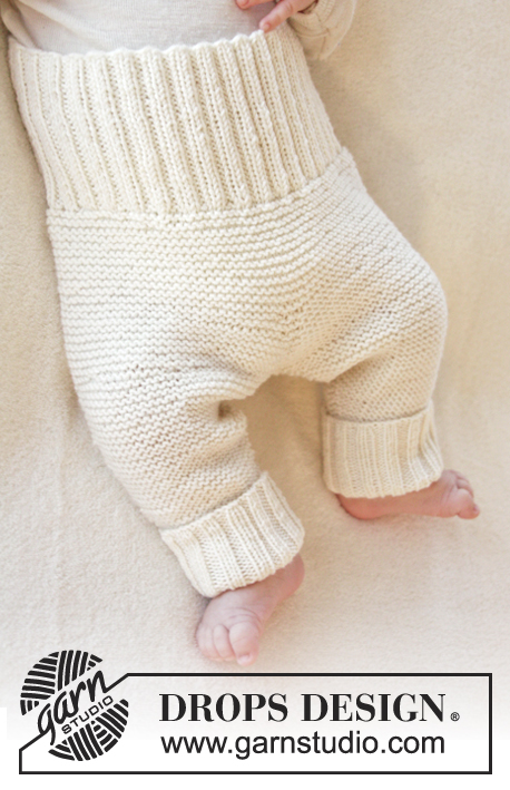 Smarty Pants knitted baby pants pattern free