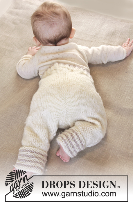 free baby jacket and pants knitting pattern 2