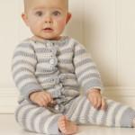 Baby Blues -  Free Crochet Baby Suit/Onesie