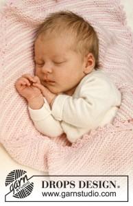 free garter stitch baby blanket pattern