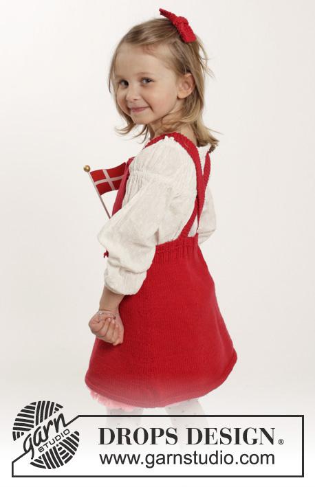 little girls dress freee knitting pattern