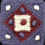 Puff Dog Free Crochet Square Pattern