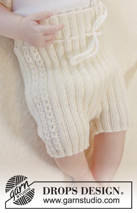 ribbed baby pants knitting pattern