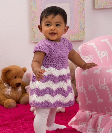 Crochet Baby Dress Knitting Bee 7 Free Knitting Patterns