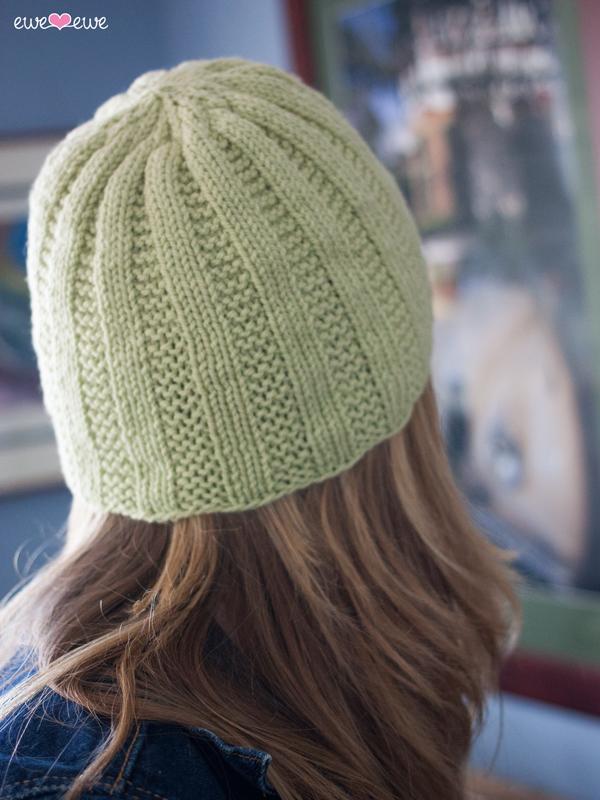 Free Knitting Pattern: Cottage Cap Easy Hat Pattern