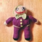 Knit Joker Doll - A Free Pattern