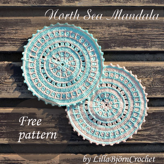 North Sea Mandala - Free Crochet Pattern