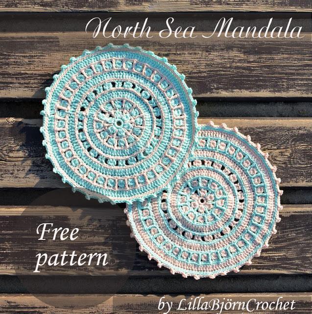 North Sea Mandala - Free Crochet Pattern