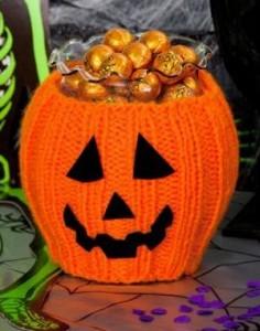 Pumpkin Bowl Cozy
