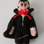 The Little Vampire - Free Halloween Knitting Pattern