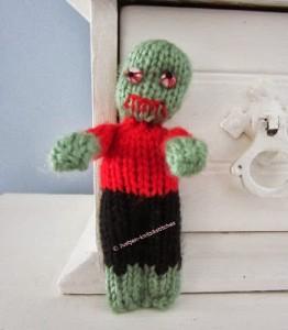 The Little Zombie - Free Halloween Knitting Pattern