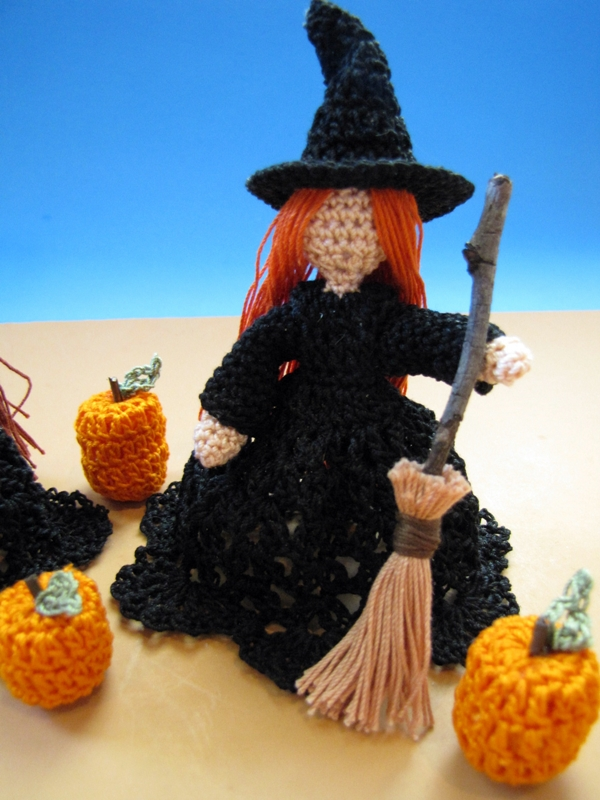 the littlest witches a free crochet pattern - Free Halloween Knitting Patterns