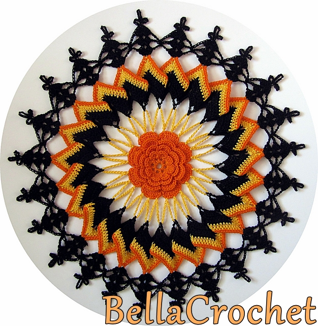 Trick or Treat Doily A Free Crochet Pattern For You