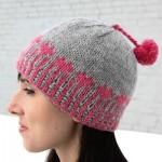 Heart Pops Hat (Free Knitting Pattern)