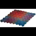 Valley Yarns 255 Illusion Cube Blanket Free Knitting Pattern