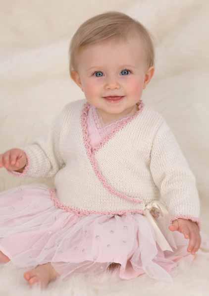Ballerina Wrap Cardigan Knitting Pattern - Gray Cardigan ...