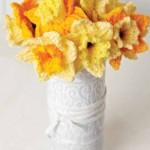 Free daffodil knitting pattern