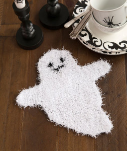 ghostly dish scrubber free halloween knitting pattern - Free Halloween Knitting Patterns