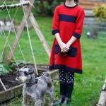 Lake Girls Dress Free Knitting Pattern