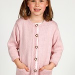Marshmallow Girls Cardigan Pattern