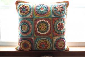 pillow cal crochet