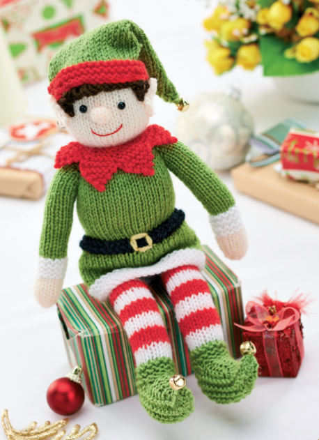 Knitted Elf Pattern : Knitting Pattern Elf On The Shelf Cars