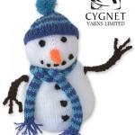 Cedric Snowman - Free Knitting Pattern
