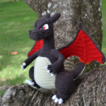 Charizard Pattern - Free Dragon Amigurumi Pattern