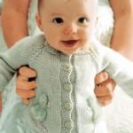 Chick - Free Baby Cardigan Knitting Pattern