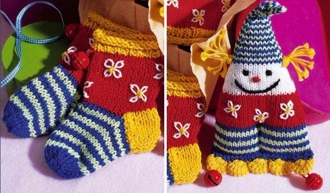 Children & Baby Socks and Matching Fun Toy