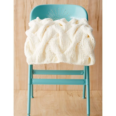 Cozy Cables Blanket - Free Knitting Pattern